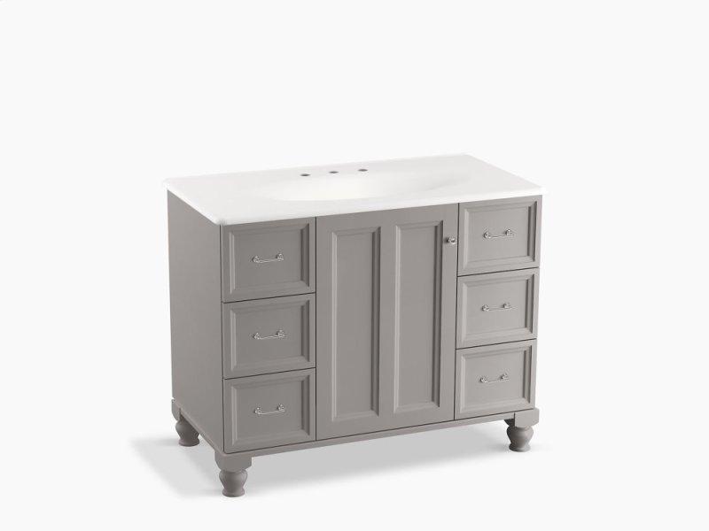 KLGWT In Mohair Grey By Kohler In Atlanta GA Mohair Grey - 42 bathroom vanity cabinets