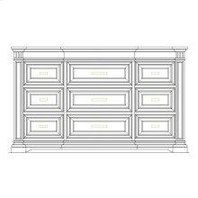 Portico Dresser - Shell