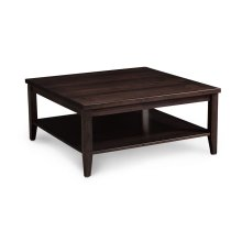 """Crawford Square Coffee Table with Shelf, Crawford Square Coffee Table with Shelf, 36""""x36"""""""