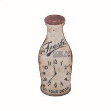 Fresh Milk Wall Clock