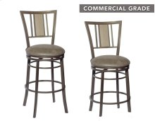 "Vesna Swivel Counter Stool 21""x18.8""x38.6"""