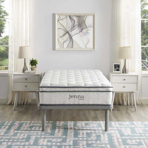 """Jenna 10"""" Twin Pillow Top Innerspring Mattress"""