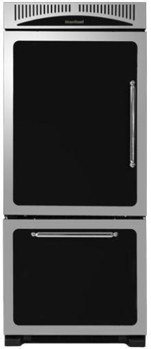 """Black 30"""" Classic Refrigerator - Model HCBMR19L"""