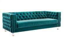 Rimini Green Velvet Sofa