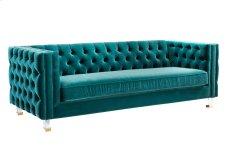 Rimini Green Velvet Sofa Product Image