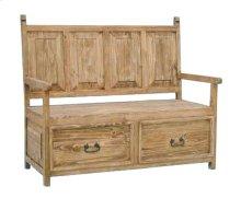 2 Drawer Bench