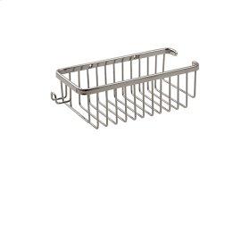 Rectangular basket with razor handle