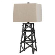 150W Tower Metal Table Lamp