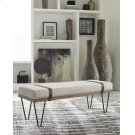 Beige and Black Bench Product Image