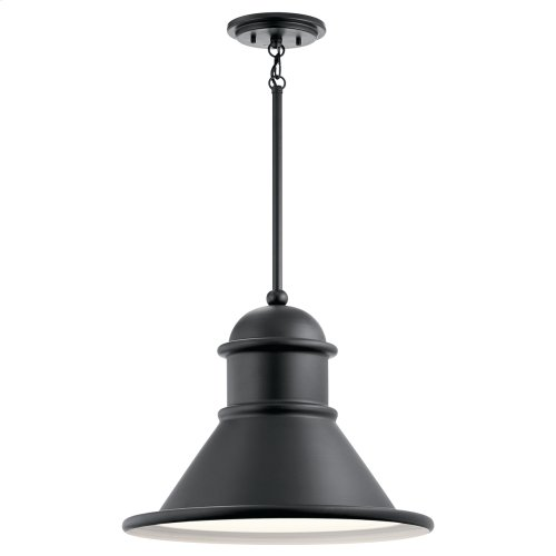 Northland Collection Northland 1 Light Outdoor Pendant BK