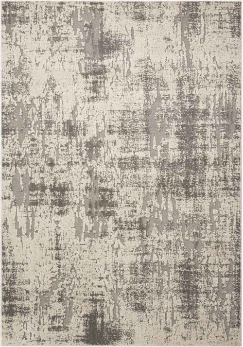 Gleam Ma602 Iv/grey Rectangle Rug 5'3'' X 7'3''