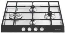 "Gas Cooktop, 60 cm (approx. 24""), Black"