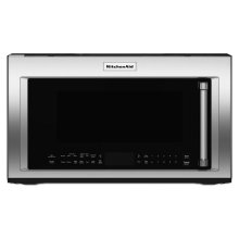 """1000-Watt Convection Microwave with High-Speed Cooking - 30"""" - Stainless Steel"""