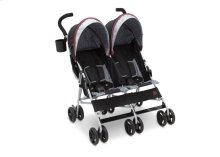 J is for Jeep® Brand Scout Double Stroller - Lunar Burgundy (0981)
