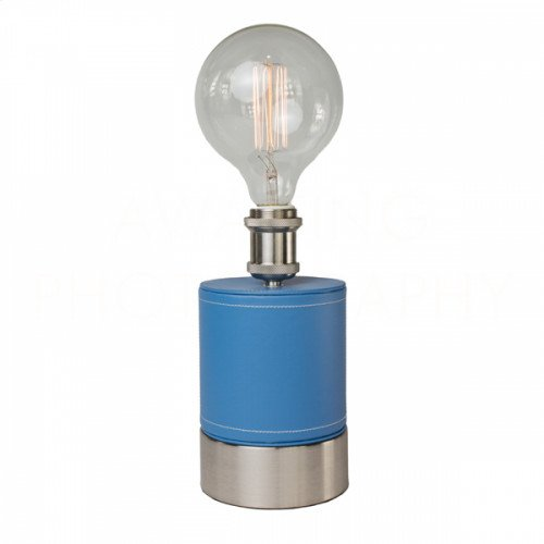 Cubist French Blue Table Lamp