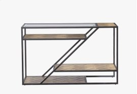 Sofa/Console Table - Fir Parquet Finish