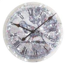 Floral Bird Clock