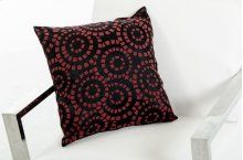 Modrest Orbit Black and Red Throw Pillow