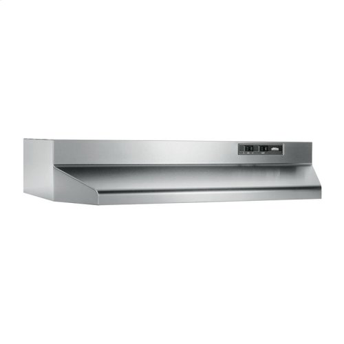 "30"", Stainless Steel, Under-Cabinet Hood, 160 CFM"
