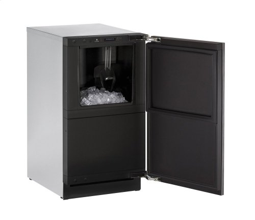 Modular 3000 Series 45 Cm Clear Ice Machine With Integrated Solid Finish and Field Reversible Door Swing, Pump Included (220-240 Volts / 50 Hz)