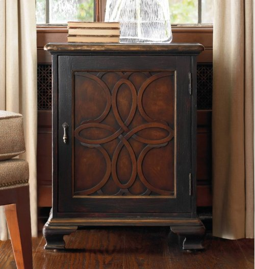 One Door Accent Chest