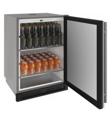 "1000 Series 24"" Outdoor Keg Refrigerator With Stainless Solid Finish and Field Reversible Door Swing (115 Volts / 60 Hz)"