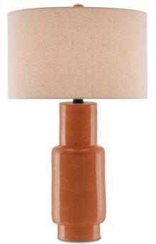 Janeen Orange Table Lamp