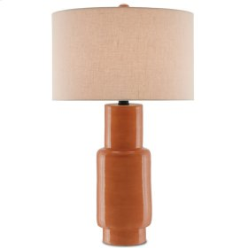 Janeen Orange Table Lamp