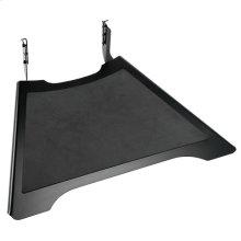 FUSION Small Height-Adjustable Accessory Shelf, Black