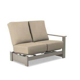 Leeward MGP Cushion Left Arm Two-Seat Hidden Motion Sectional