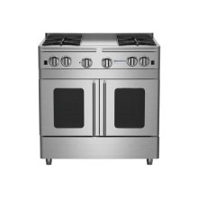 """36"""" Precious Metals Range with 12"""" Griddle"""