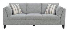 Sofa W/2 Accent Pillows-gray #julian-1