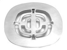 """4-1/2"""" Round Shower Grid - Fiat Shower Drains - Antique Brass"""