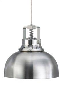 Satin Nickel Mini Cargo Solid Pendant