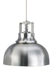 Satin Nickel Mini Cargo Solid Pendant