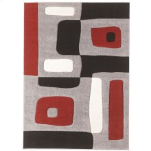 Exceptional Designs by Flash Geo 5'2'' x 7'2'' Rug