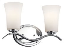 Armida 2 Light Vanity Light Chrome
