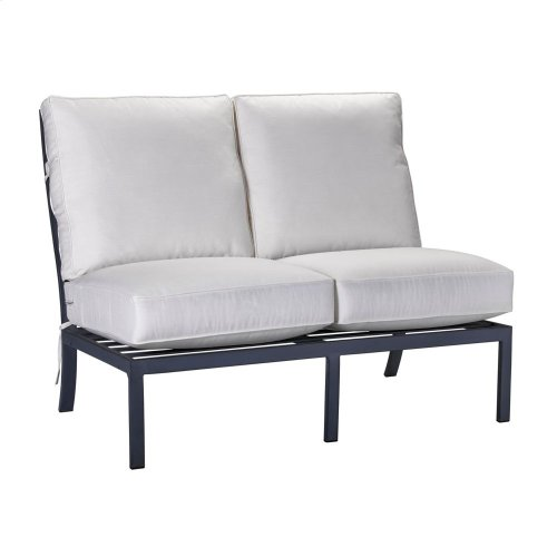 Raleigh Armless Loveseat