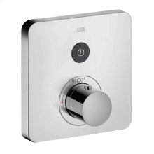 Chrome ShowerSelect SoftCube Thermostatic 1-Function Trim