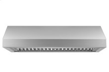"Heritage 48"" Pro Wall Hood, 12"" High, Silver Stainless Steel"