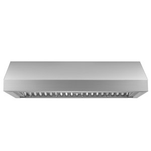 "DacorHeritage 48"" Pro Wall Hood, 12"" High, Silver Stainless Steel"