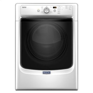 """Maytag® Large Capacity Dryer with Wrinkle Prevent Option and PowerDry System """" 7.4 cu. ft. - White Product Image"""
