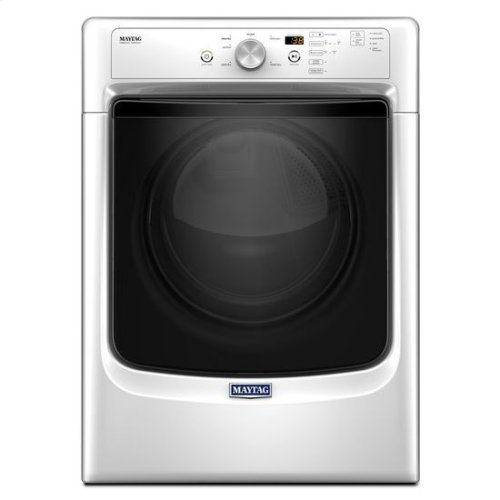 """Maytag® Large Capacity Dryer with Wrinkle Prevent Option and PowerDry System """" 7.4 cu. ft. - White"""