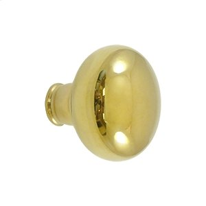 Accessory Knob for SDL980 or SDLS480, Solid Brass - Unlacquered Brass