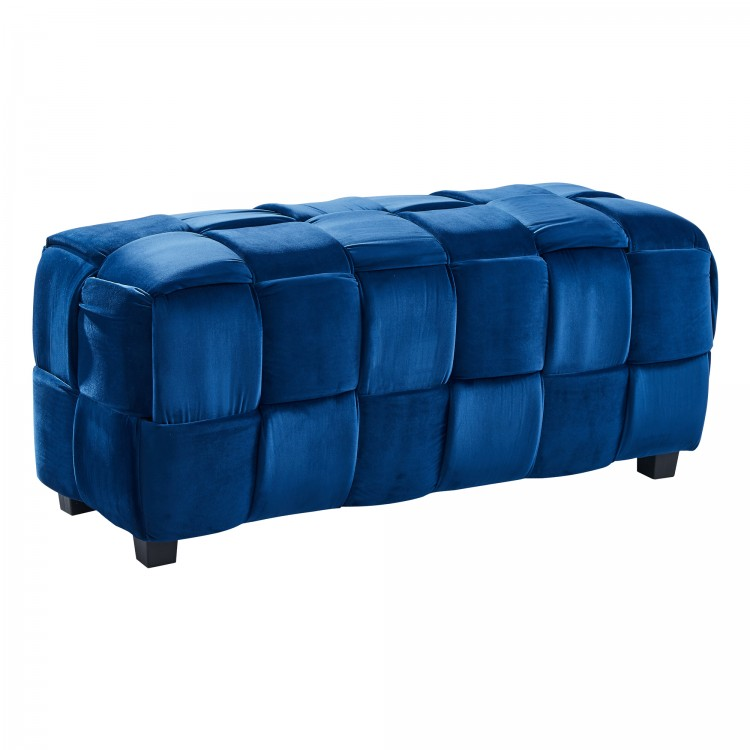Raven Contemporary Long Ottoman