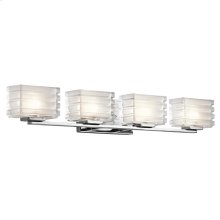 Bazely Collection Bazely 4 Light Halogen Wall Sconce CH CH