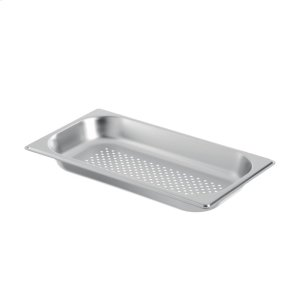 Half Size Stainless Steel Pan - Perforated GN 124 130 -