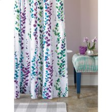 Ophelia Shower Curtain, WHITE, ONE