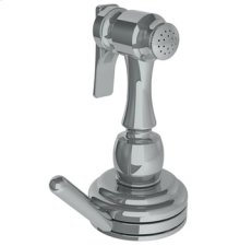 Deck Mounted Independent Side Spray With Integrated Mixer