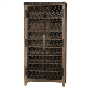 Hillsdale FurnitureJennings Tall Wine Cabinet - Distressed Walnut